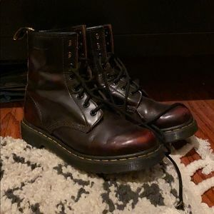 Burgundy Original Doc Martens